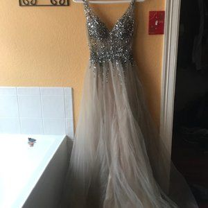 Beaded gown for prom or wedding